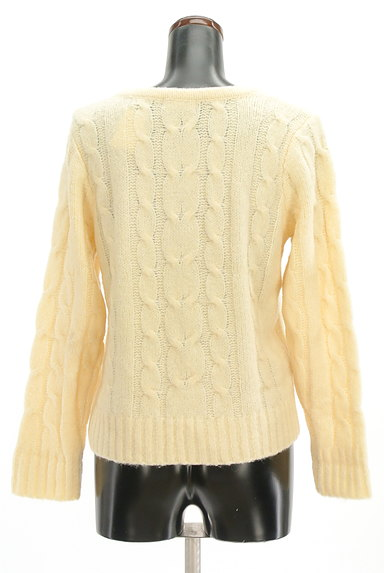 SM2(サマンサモスモス)の古着「ケーブル編みセーター(セーター)」大画像2へ