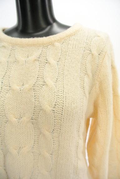 SM2(サマンサモスモス)の古着「ケーブル編みセーター(セーター)」大画像4へ