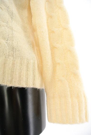 SM2(サマンサモスモス)の古着「ケーブル編みセーター(セーター)」大画像5へ