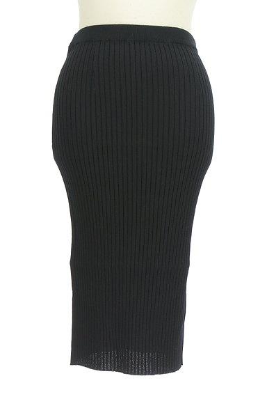 Pinky&Dianne(ピンキー&ダイアン)の古着「ミモレ丈タイトリブニットスカート(スカート)」大画像1へ
