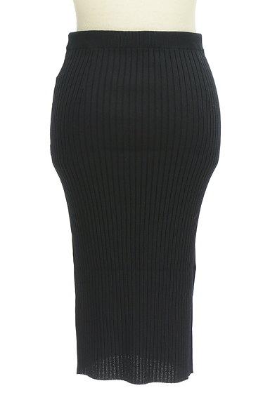 Pinky&Dianne(ピンキー&ダイアン)の古着「ミモレ丈タイトリブニットスカート(スカート)」大画像2へ