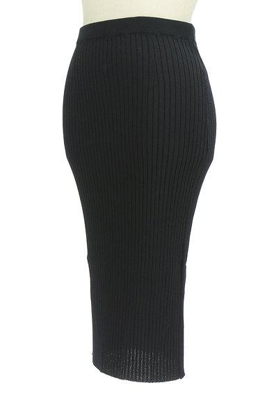 Pinky&Dianne(ピンキー&ダイアン)の古着「ミモレ丈タイトリブニットスカート(スカート)」大画像3へ