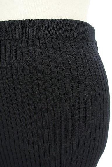 Pinky&Dianne(ピンキー&ダイアン)の古着「ミモレ丈タイトリブニットスカート(スカート)」大画像4へ