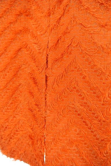 MICHEL KLEIN(ミッシェルクラン)の古着「サイドフリンジ刺繍切替ミディ丈スカート(スカート)」大画像5へ