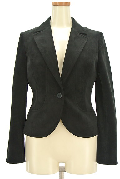 7-ID concept(セブンアイディーコンセプト)の古着「ベロア調テーラードジャケット(ジャケット)」大画像1へ