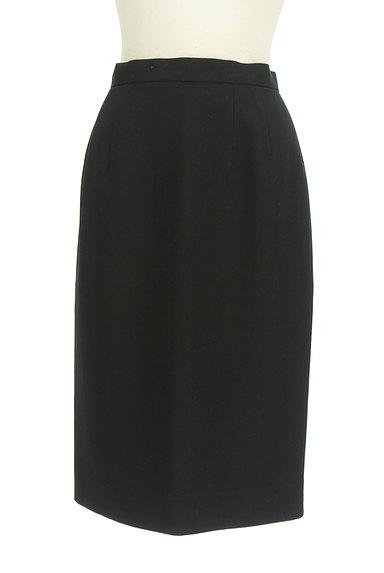 CORDIER(コルディア)の古着「無地ミディ丈セミタイトスカート(スカート)」大画像1へ