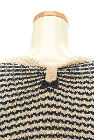 Supreme.La.La(シュープリームララ)の古着「ローゲージニット×無地スカートの異素材ワンピ(ワンピース・チュニック)」大画像5へ
