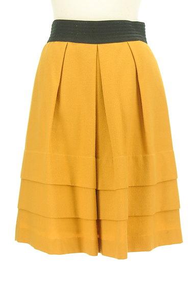 SunaUna(スーナウーナ)の古着「配色タックティアードスカート(スカート)」大画像1へ