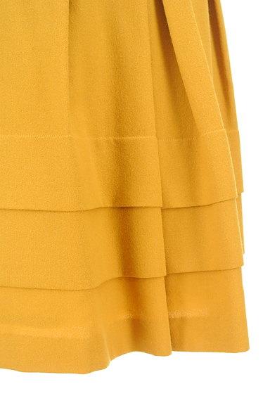 SunaUna(スーナウーナ)の古着「配色タックティアードスカート(スカート)」大画像5へ