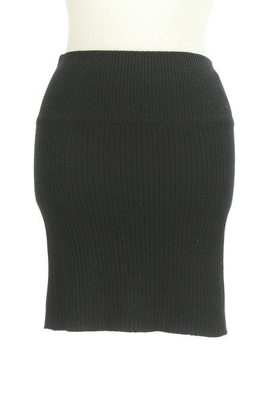 ROSE BUD(ローズバッド)の古着「タイトリブニットスカート(ミニスカート)」大画像1へ