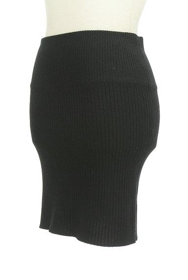 ROSE BUD(ローズバッド)の古着「タイトリブニットスカート(ミニスカート)」大画像3へ