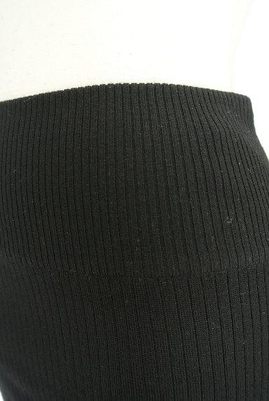 ROSE BUD(ローズバッド)の古着「タイトリブニットスカート(ミニスカート)」大画像4へ