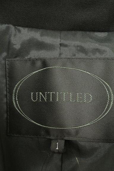 UNTITLED(アンタイトル)の古着「無地テーラードジャケット(ジャケット)」大画像6へ