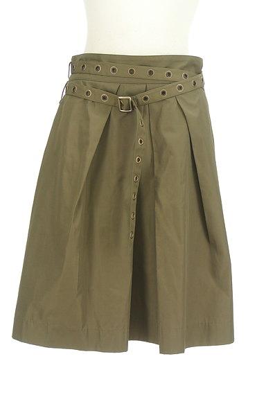 Diagram(ダイアグラム)の古着「ベルト付きタックフレアスカート(スカート)」大画像1へ