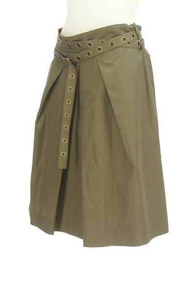 Diagram(ダイアグラム)の古着「ベルト付きタックフレアスカート(スカート)」大画像3へ