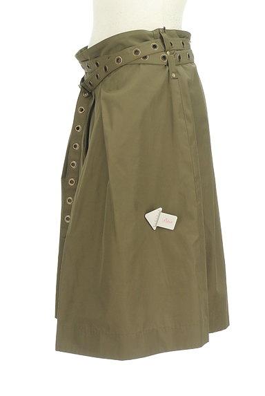 Diagram(ダイアグラム)の古着「ベルト付きタックフレアスカート(スカート)」大画像4へ