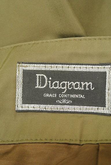 Diagram(ダイアグラム)の古着「ベルト付きタックフレアスカート(スカート)」大画像6へ