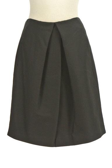 TOMORROWLAND(トゥモローランド)の古着「無地シルキータックフレアスカート(スカート)」大画像1へ