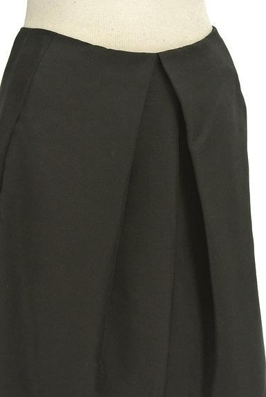 TOMORROWLAND(トゥモローランド)の古着「無地シルキータックフレアスカート(スカート)」大画像4へ