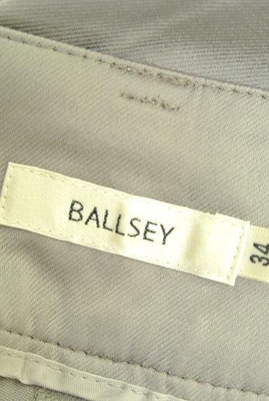TOMORROWLAND(トゥモローランド)の古着「無地微光沢クロップドパンツ(パンツ)」大画像6へ