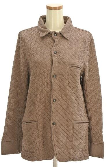 ARMEN(アーメン)の古着「ミドル丈キルティングジャケット(ブルゾン・スタジャン)」大画像1へ