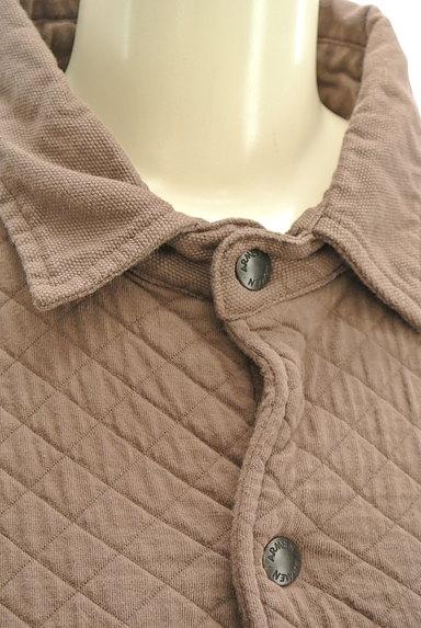 ARMEN(アーメン)の古着「ミドル丈キルティングジャケット(ブルゾン・スタジャン)」大画像4へ