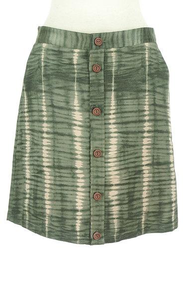 A.P.C.(アーペーセー)の古着「ムラ染め風フロントボタンスカート(スカート)」大画像1へ