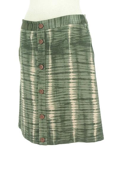A.P.C.(アーペーセー)の古着「ムラ染め風フロントボタンスカート(スカート)」大画像3へ