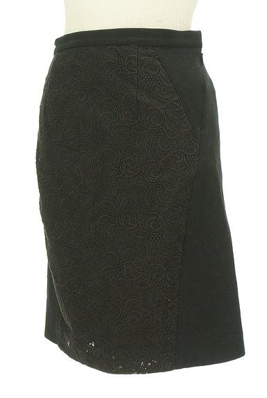 UNTITLED(アンタイトル)の古着「レース切替セミフレアスカート(スカート)」大画像3へ