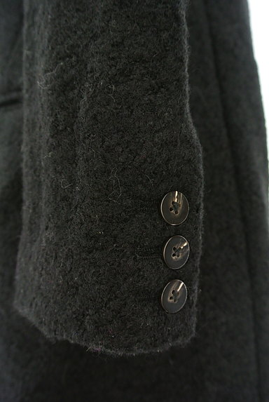 REPLAY(リプレイ)の古着「配色レザー襟切替ミドルコート(コート)」大画像5へ