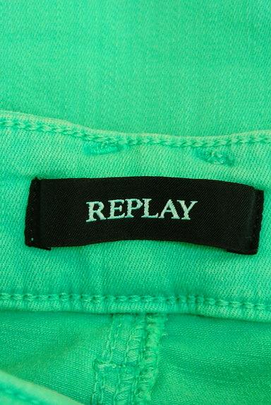 REPLAY(リプレイ)の古着「カラースキニー(デニムパンツ)」大画像6へ