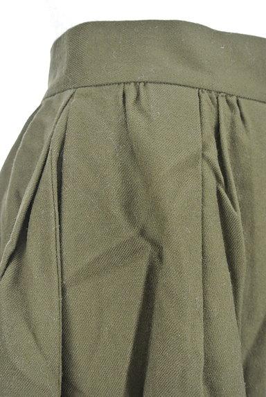 UNIVERVAL MUSE(ユニバーバルミューズ)の古着「ギャザーフレア膝上スカート(ミニスカート)」大画像4へ