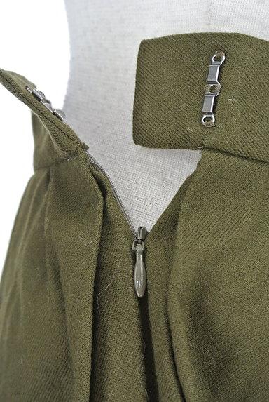 UNIVERVAL MUSE(ユニバーバルミューズ)の古着「ギャザーフレア膝上スカート(ミニスカート)」大画像5へ