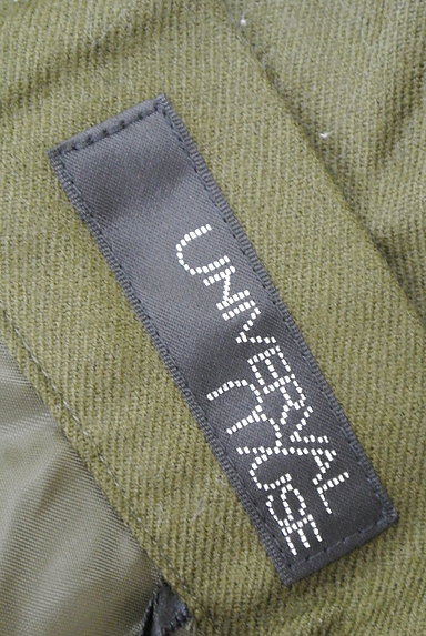 UNIVERVAL MUSE(ユニバーバルミューズ)の古着「ギャザーフレア膝上スカート(ミニスカート)」大画像6へ
