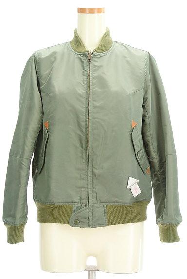 POU DOU DOU(プードゥドゥ)の古着「MA-1デザインブルゾン(ブルゾン・スタジャン)」大画像3へ