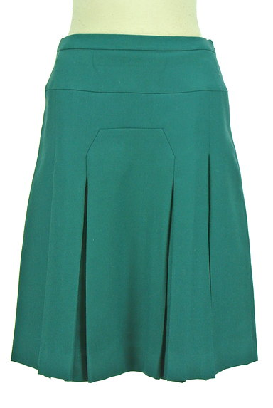 SunaUna(スーナウーナ)の古着「切替タックフレア膝下スカート(スカート)」大画像1へ