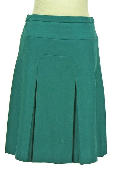SunaUna(スーナウーナ)の古着「切替タックフレア膝下スカート(スカート)」大画像2へ