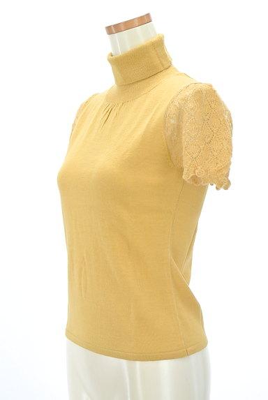 SunaUna(スーナウーナ)の古着「袖レースタートルニット(ニット)」大画像3へ
