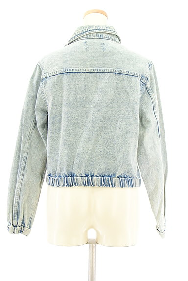 MURUA(ムルーア)の古着「ライダースデニムジャケット(ブルゾン・スタジャン)」大画像2へ