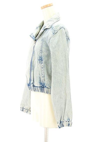 MURUA(ムルーア)の古着「ライダースデニムジャケット(ブルゾン・スタジャン)」大画像3へ