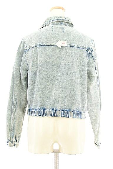 MURUA(ムルーア)の古着「ライダースデニムジャケット(ブルゾン・スタジャン)」大画像4へ