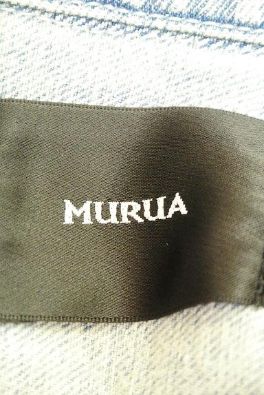 MURUA(ムルーア)の古着「ライダースデニムジャケット(ブルゾン・スタジャン)」大画像6へ