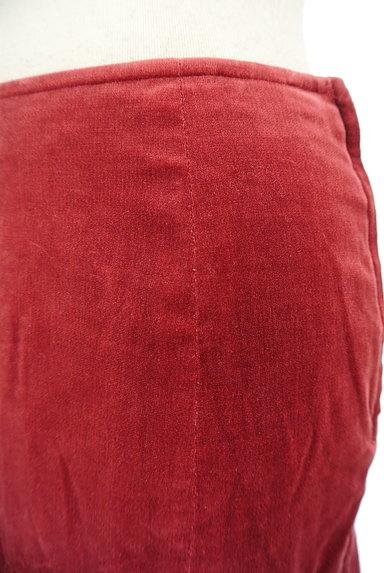 L'EST ROSE(レストローズ)の古着「切替アシンメトリーベロアスカート(スカート)」大画像4へ