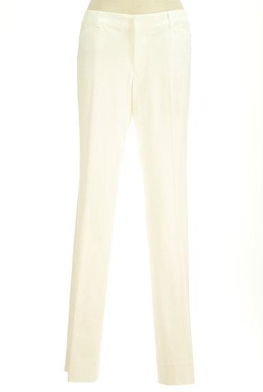 COUP DE CHANCE(クードシャンス)の古着「ホワイトカラーストレートパンツ(パンツ)」大画像1へ