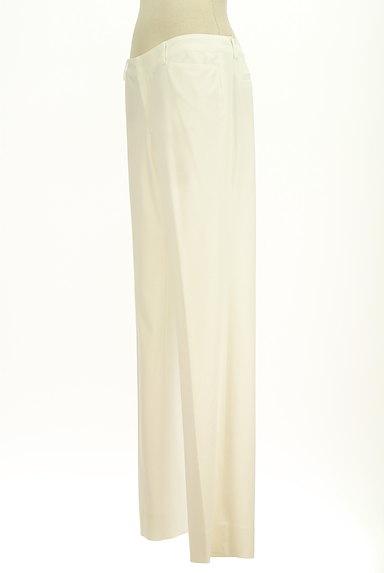 COUP DE CHANCE(クードシャンス)の古着「ホワイトカラーストレートパンツ(パンツ)」大画像3へ