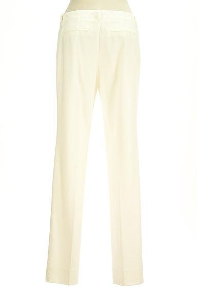 COUP DE CHANCE(クードシャンス)の古着「ホワイトカラーストレートパンツ(パンツ)」大画像2へ