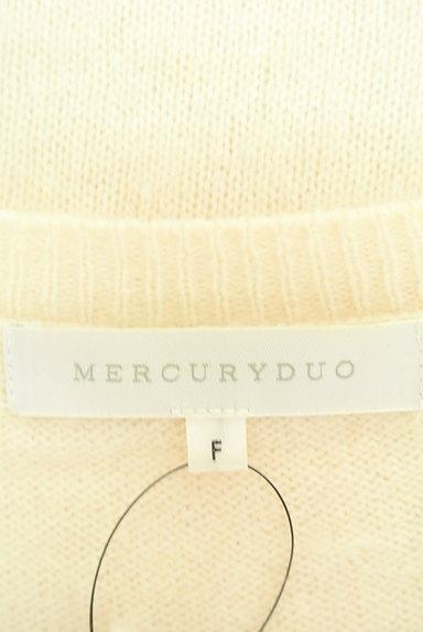 MERCURYDUO(マーキュリーデュオ)の古着「Vネックロングニットワンピース(ニット)」大画像6へ