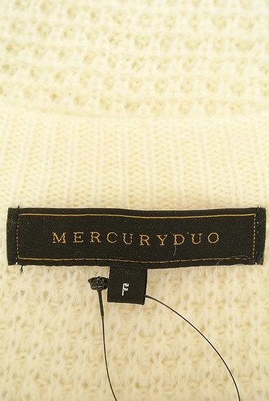 MERCURYDUO(マーキュリーデュオ)の古着「ビジュー付サイドスリットニット(ニット)」大画像6へ