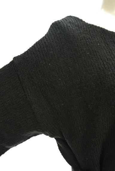 MERCURYDUO(マーキュリーデュオ)の古着「ウエストベルト付きクラシカルニット(ニット)」大画像4へ