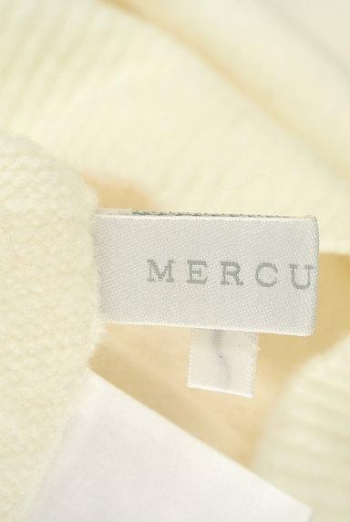 MERCURYDUO(マーキュリーデュオ)の古着「背中Vネックドロップショルダーニット(ニット)」大画像6へ